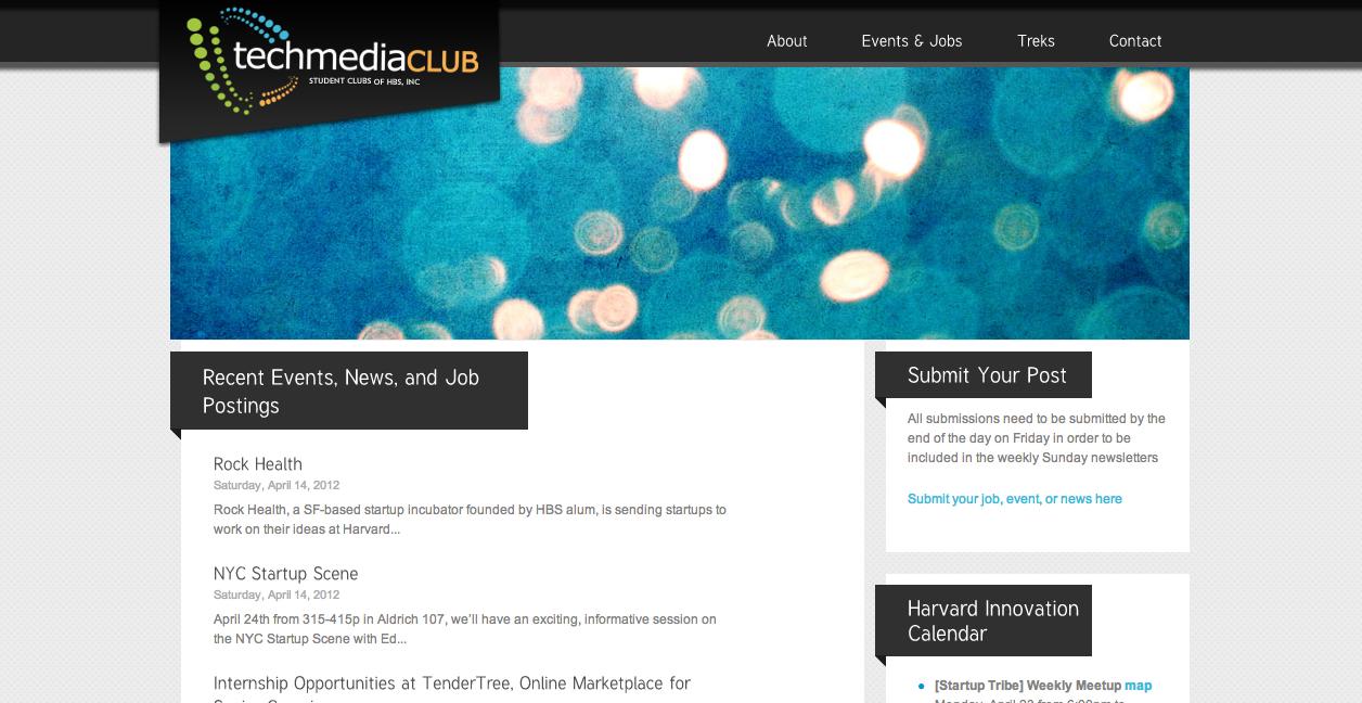 Harvard Business School TechMedia Club